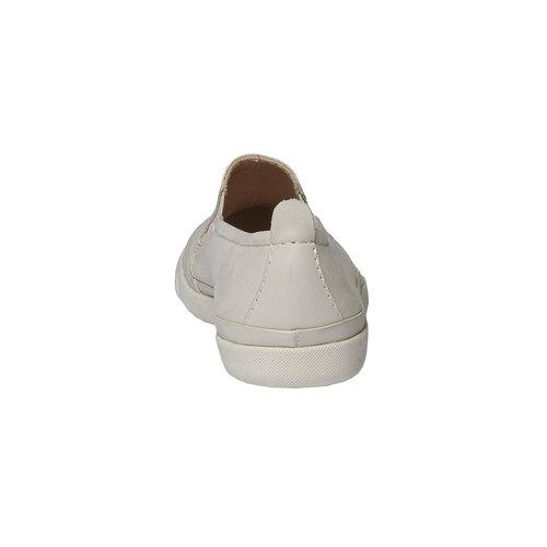 Plim Soll di pelle con perforazioni bata-light, bianco, 514-1197 - 17