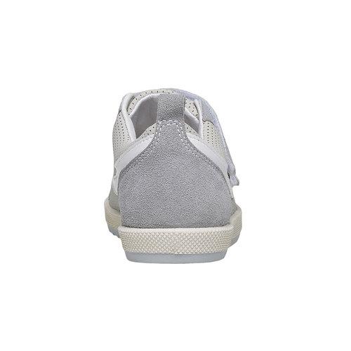Sneakers da bambino con perforazioni flexible, grigio, 311-2217 - 17