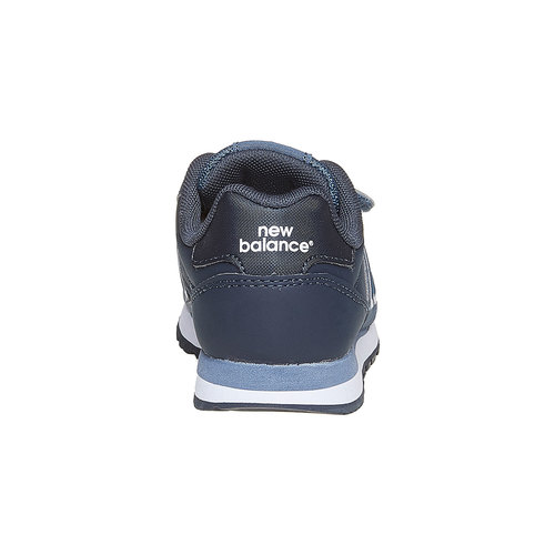 Sneakers da bambino con chiusure a velcro new-balance, blu, 301-9500 - 17