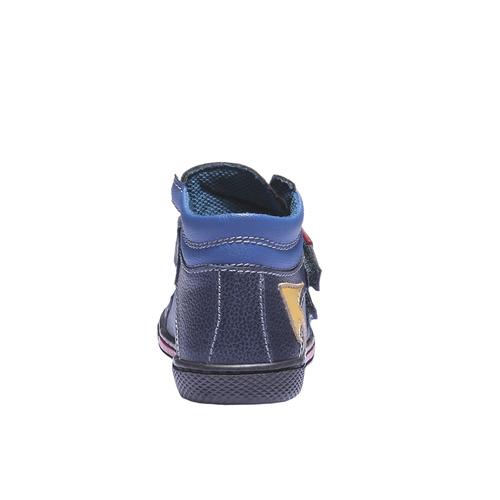 Sneakers da bambino in pelle mini-b, viola, 114-9134 - 17