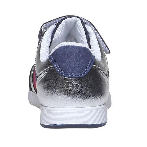 Sneakers da bambino con fiorellini mini-b, viola, 329-9174 - 17