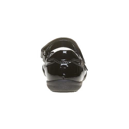 Ballerine da ragazza con cinturino sul collo del piede mini-b, nero, 221-6170 - 17