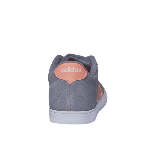 Sneakers informali di pelle adidas, grigio, 503-2685 - 17