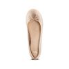 Ballerine in pelle bata, beige, 524-8144 - 17