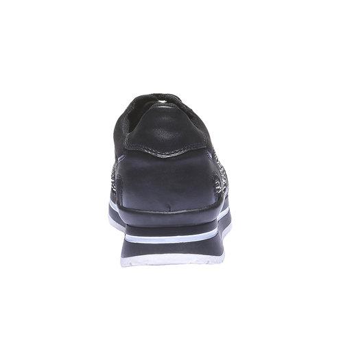Sneakers alla caviglia north-star, nero, 541-6108 - 17