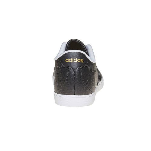 Sneakers da donna con effetto pelle di coccodrillo adidas, nero, 501-6198 - 17