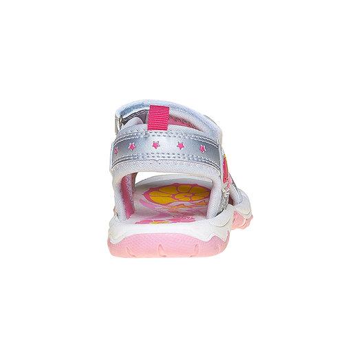 Sandali argentati per bambina primigi, grigio, 261-2141 - 17