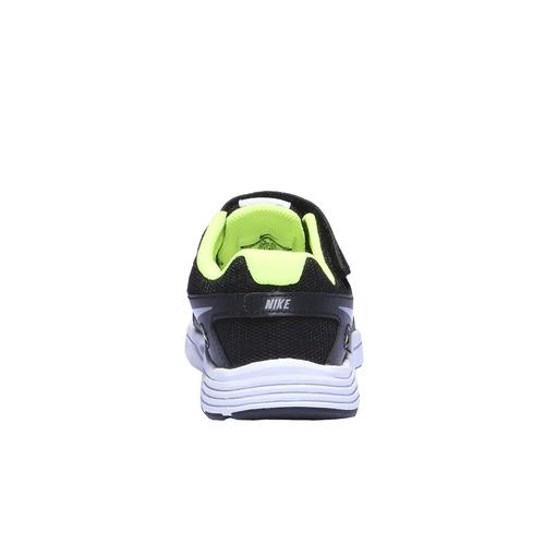 Sneakers da bambino con suola ampia nike, nero, 309-6110 - 17