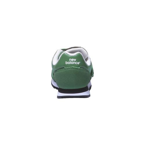 Sneakers da bambino alla moda new-balance, verde, 309-7373 - 17
