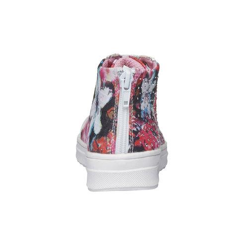 Sneakers alla caviglia con strass mini-b, 329-0184 - 17