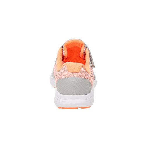 Sneakers sportive da bambino nike, arancione, 309-8172 - 17