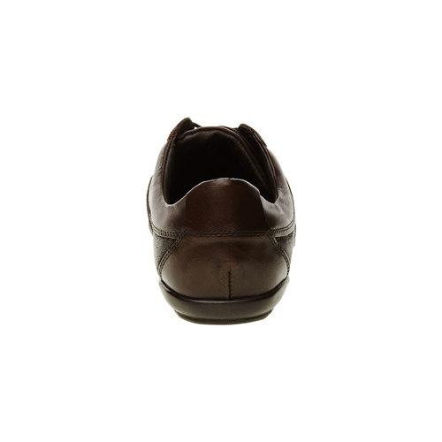 Sneakers informali di pelle levis, marrone, 844-4544 - 17
