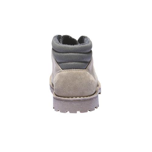 Scarpe in pelle con suola vistosa weinbrenner, beige, 843-8351 - 17