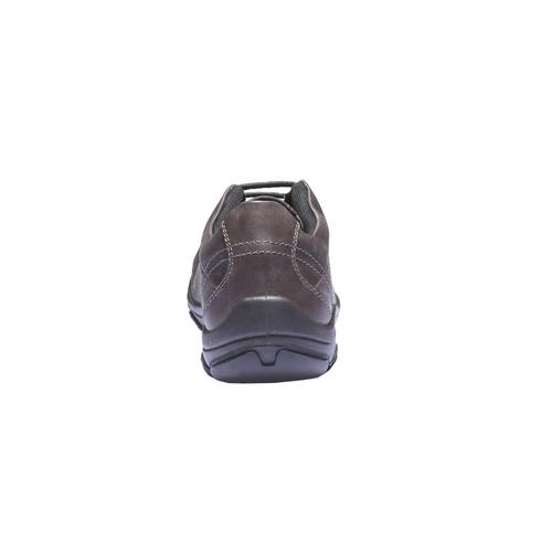 Sneakers di pelle weinbrenner, marrone, 844-4387 - 17