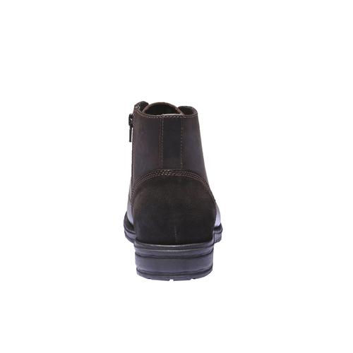 Scarpe in pelle informali bata, marrone, 894-4555 - 17