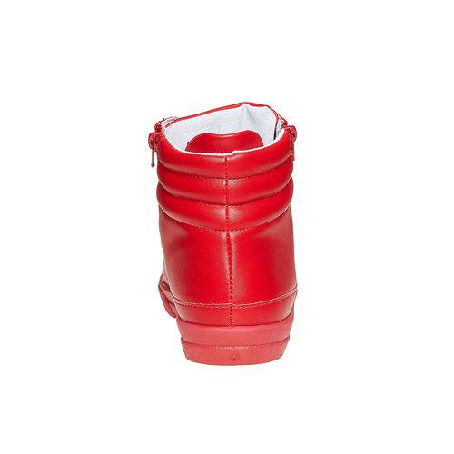 Scarpe da uomo alla caviglia con cerniere north-star, rosso, 841-5503 - 17
