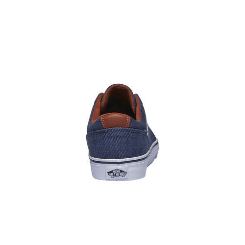 Sneakers da uomo con tomaia in denim vans, blu, 889-9204 - 17