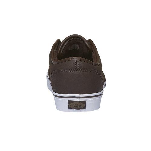 Sneakers da uomo con suola bianca vans, marrone, 801-4300 - 17