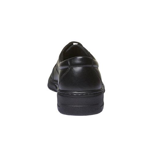 Scarpe Derby in pelle pinosos, nero, 824-6755 - 17