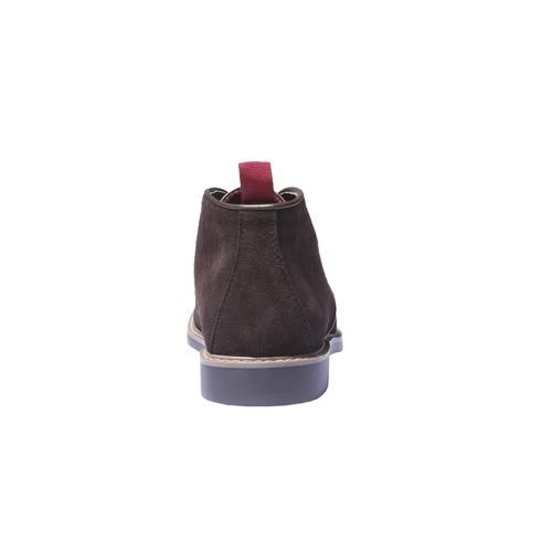 Scarpe alla caviglia in stile Chukka bata, marrone, 893-4245 - 17