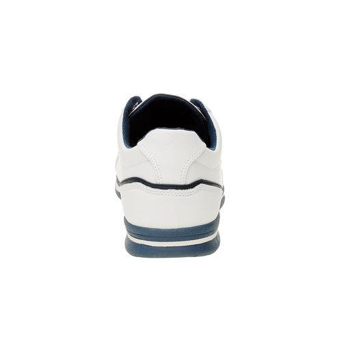 Sneakers da uomo in pelle levis, bianco, 844-1509 - 17