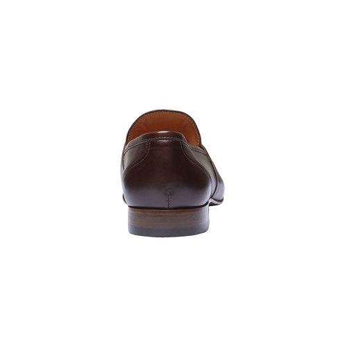 Penny Loafer di pelle shoemaker, marrone, 814-4146 - 17