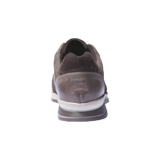 Sneakers di pelle bata, marrone, 844-4434 - 17