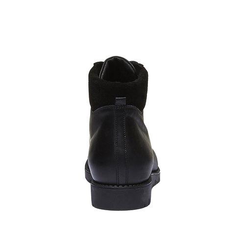 Scarpe in pelle con lacci originali flexible, nero, 594-6261 - 17