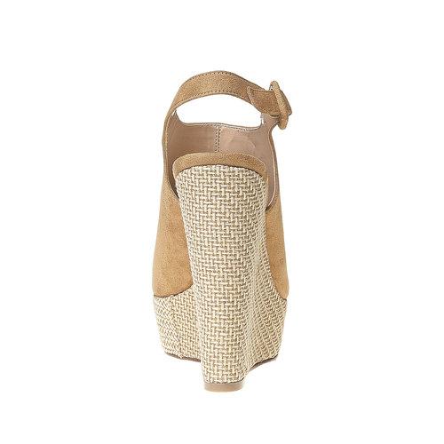 Sandali con lati chiusi bata, beige, 769-8525 - 17