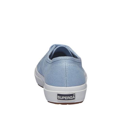 Sneakers in tessuto superga, viola, 589-9287 - 17