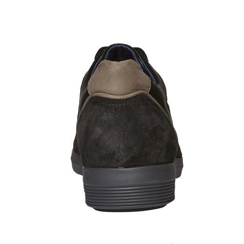 Sneakers scamosciate bata, grigio, 843-2519 - 17