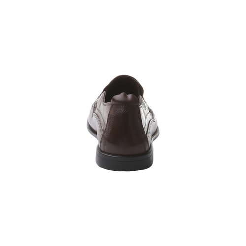 Mocassini esclusivi in pelle bata-comfit, marrone, 854-4833 - 17