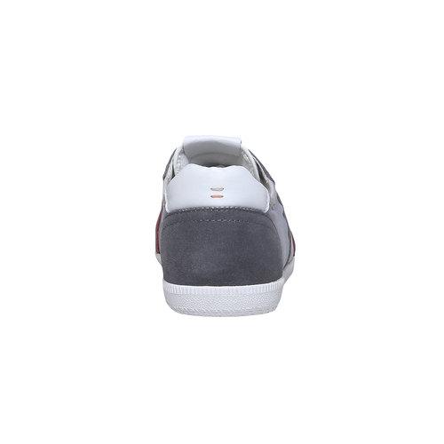 Sneakers informali da uomo bata, grigio, 849-2653 - 17