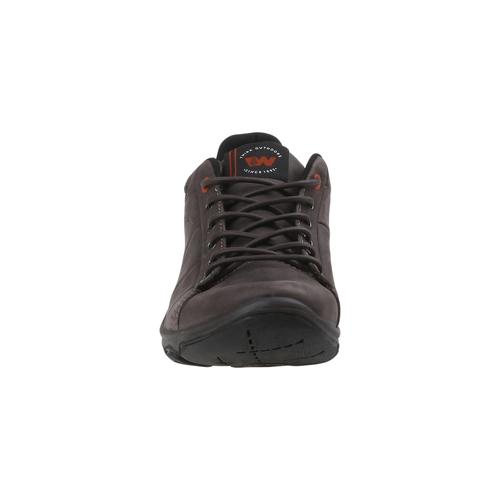 Sneakers di pelle weinbrenner, marrone, 844-4387 - 16