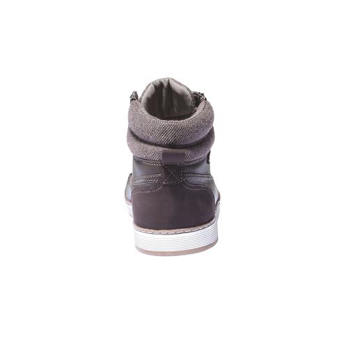 Sneakers alla caviglia bata, marrone, 841-4401 - 17