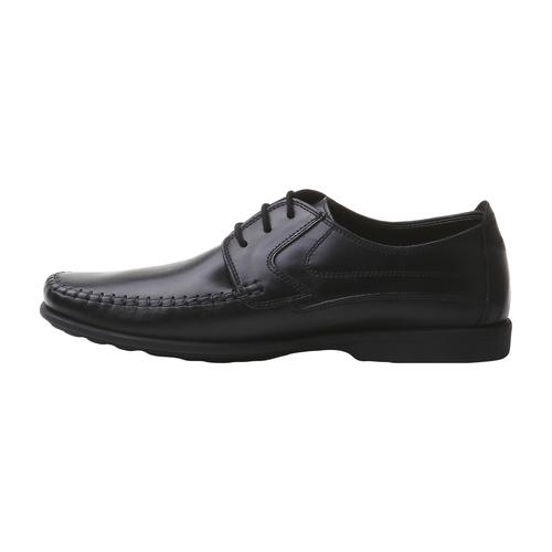 scarpa in pelle da uomo bata-comfit, nero, 854-6836 - 15