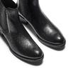 Scarpe di pelle in stile Chelsea bata, nero, 594-6448 - 17