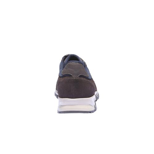 Sneakers di pelle bata, viola, 843-9449 - 17