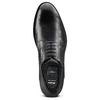 Scarpe basse di pelle in stile Derby bata, nero, 824-6874 - 17
