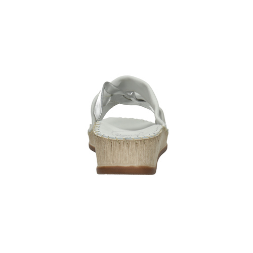 Sandali da donna in pelle, bianco, 574-1248 - 17