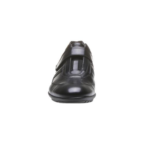 Sneakers da uomo in pelle bata, nero, 814-6989 - 16
