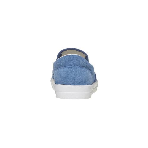 Slip-on con perforazioni north-star, blu, 833-9118 - 17
