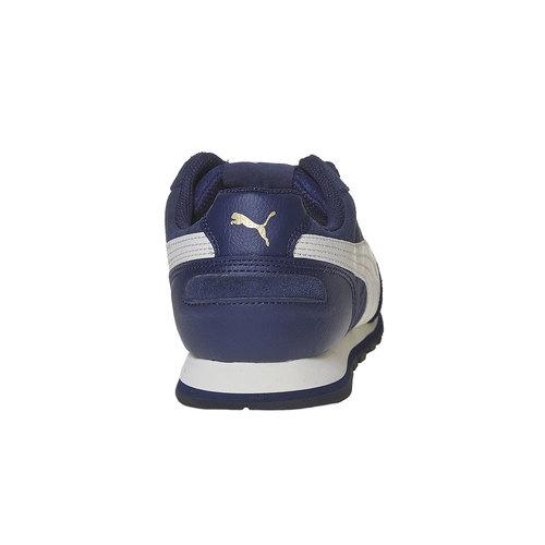 Sneakers da uomo in pelle puma, blu, 803-9311 - 17
