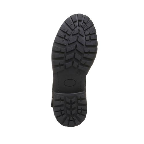 Boot  violetta, nero, 391-6162 - 18