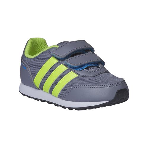 Sneakers da bambino con chiusure a velcro adidas, grigio, 109-2165 - 13