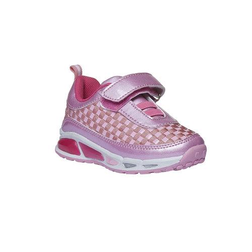 Sneakers da ragazza con chiusura a velcro mini-b, nero, 221-6119 - 13