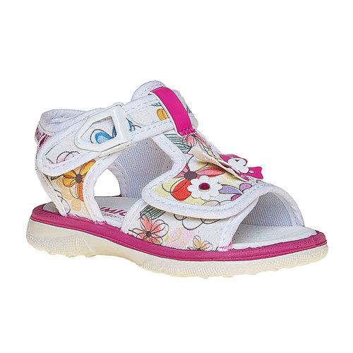 Sandali per bambina con fiori primigi, bianco, 169-0121 - 13