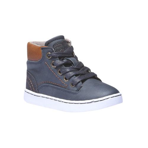 Sneakers da bambino alla caviglia mini-b, viola, 211-9124 - 13