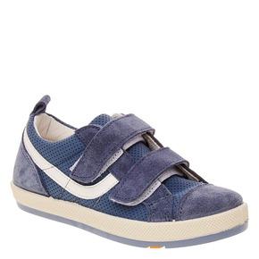 Sneakers da bambino con perforazioni flexible, blu, 311-9217 - 13