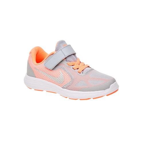 Sneakers sportive da bambino nike, arancione, 309-8172 - 13
